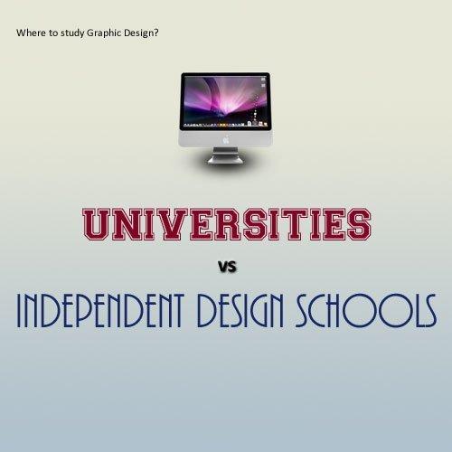 Study Graphic Design: Universities vs Independent Design Schools