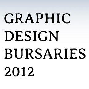 Graphic Design Bursaries 2012