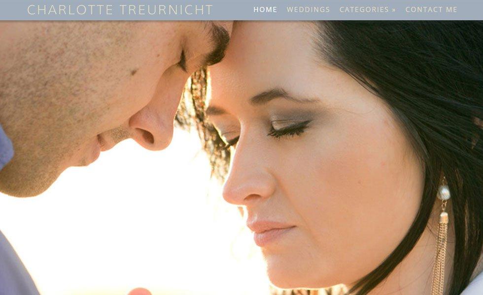 Charlotte Treurnicht Photography Website