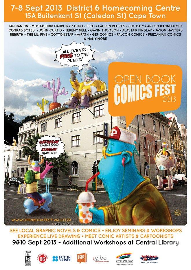 OpenBookComicsfest-poster