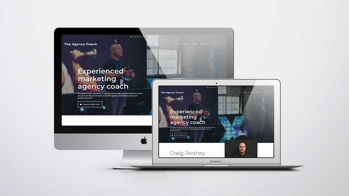 Craig Rodney - The Agency Coach